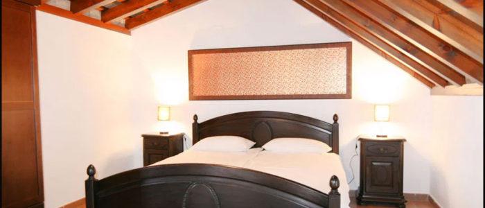 Double bedroom on the Spanish retreat